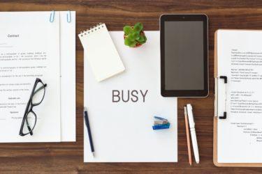 デスクワークはタスク管理次第!業務効率のおすすめ改善方法