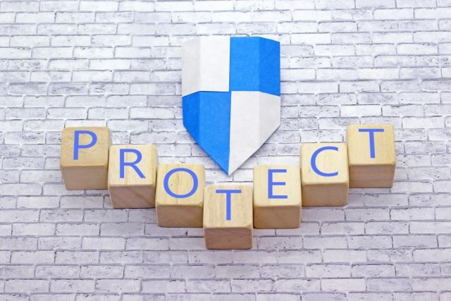 PROTECTの文字 画像