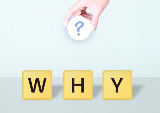 WHYの文字 画像