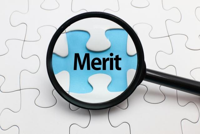 Meritの文字 画像