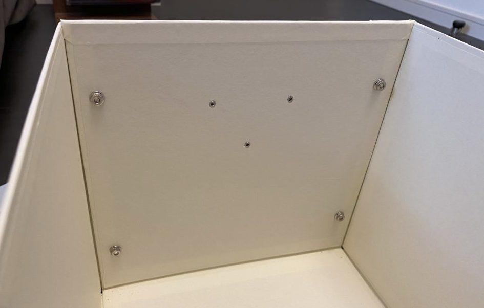 収納ボックス 内部の内壁 画像