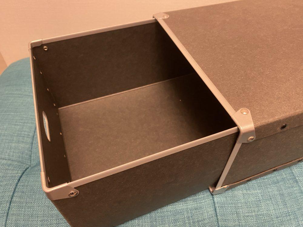 無印良品 収納ボックス 内側 画像