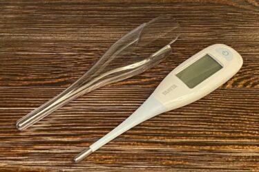画面が見やすく予測も実測も可能な日本製体温計タニタBT-470の紹介レビュー