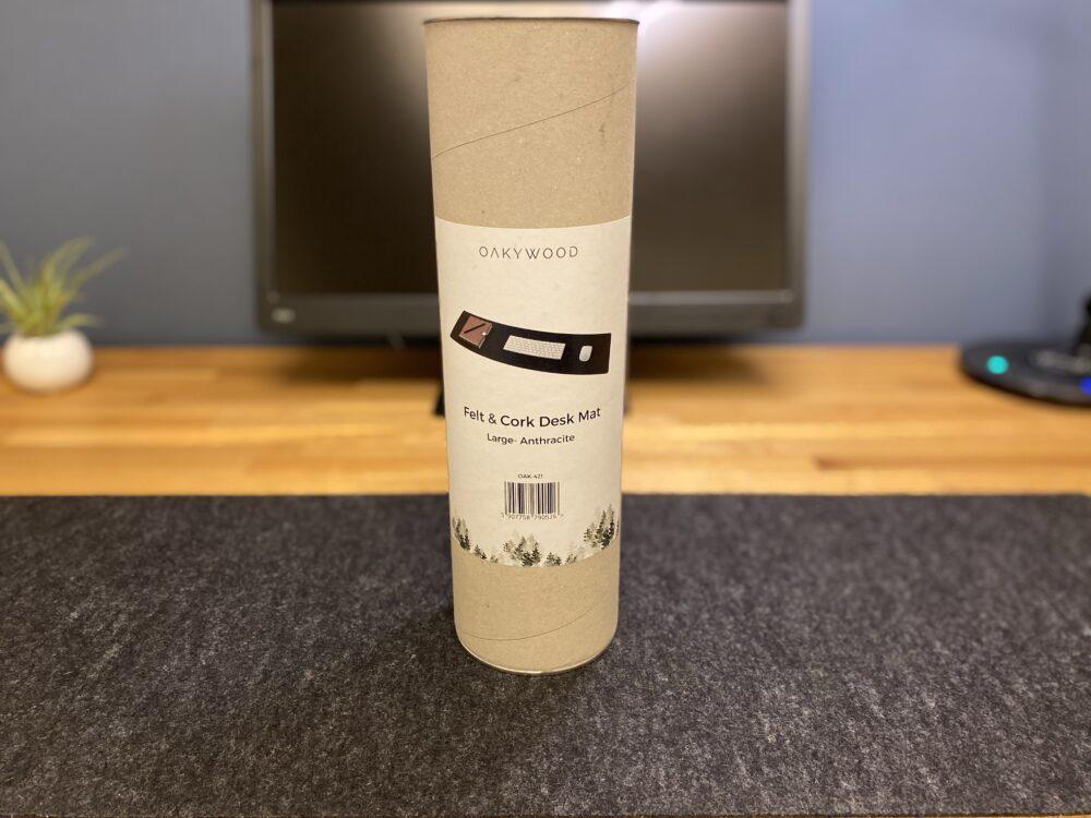 フェルト&コルクデスクマットの梱包容器
